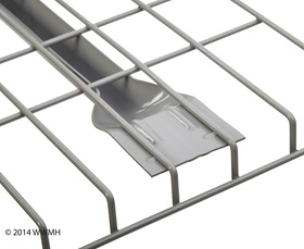 WIRE MESH DECKS-Flared Channel Detail